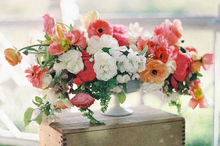 Aranjament floral pentru nunta